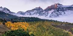 Colors of the San Juans (Travis Klingler (SivArt)) Tags: colorado workshop fallcolors sunrise danballard mountain