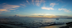 Dominican Republic Sunrise (Vitaliy973) Tags: iberostar summer morning panorama rx100 sony puertoplata costadorado dominicanrepublic republicadominicana sunrise beach atlanticocean ocean atlantic