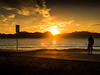 Sunset Cannes Palm Beach (totofffff) Tags: sunset cannes palm beach croisette france french riviera street alpes maritimes méditerranée noir blanc black white festival film olympus om d e m1 expo droite ong