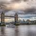 Flying High over London Bridge