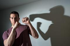 Shadow Boxing (Lukas Hauser) Tags: shadowboxing shadow boxing shadowplay art digitalart digitallyaltered