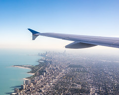 Approach to O'Hare Airport (Chris (Midland05)) Tags: ricoh ricohgr ricohgrdigital chicago illinois unitedstates us airplanewindow