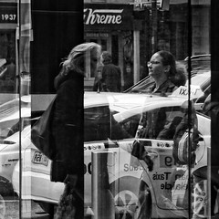 Everyday #Adelaide No. 382 (michelle-robinson.com) Tags: michellerobinson michmutters adelaide southaustralia australia artist streetphotographer photographer streetphotography streetlife candid capturinglife dailylife reflections people 4tografie flickrelite squareformat bw blackwhite blackwhitephotography cityliving citylife urban fujifilm xt10 xseries