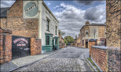 BCLM Town 2 (Darwinsgift) Tags: bclm black country living museum town dudley birmingham hdr photomatix voigtlander 20mm color skopar f35 sl ii nikon d810