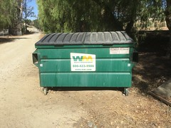 WM Dumpster (danieltrash1) Tags: greenwaste dumpster wm