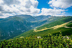 The higher you stand, the more powerful you feel (Tony Kanev) Tags: rood bulgaria rila yastrebec sky clouds