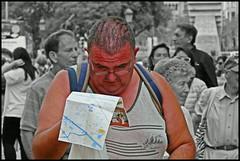 Barcelona - La Rambla (abudulla.saheem) Tags: navegacinmanual manualnavigation manuellenavigation noesfcil isnteasy istnichteinfach hombre man mann planodelaciudad citymap stadtplan larambla barcelona catalunya espanya espaa spain spanien panasonic lumix dmctz101 abudullasaheem