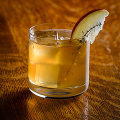 Bourbon Thyme (djwtwo) Tags: bitter massachusetts unitedstates us cocktail bourbon applejack apple thyme east freetown nikon d7000