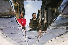 Le Carr (Lige 2016) (LiveFromLiege) Tags: lige liege luik lttich liegi lieja puddle puddlegram puddlephotography wallonie belgique reflet reflection street pavement belgium