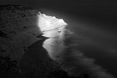 Scala_dei_Turchi_Night (eliaattardo) Tags: scaladeiturchi blackandwhite night summer sicily