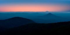 Blueridge Sunset (shutterclick3x) Tags: blueridge mountains sunset magic hour