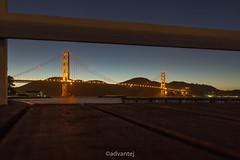 Golden Gate Bridge Views (theadvantej) Tags: 6d advantej bayarea bridge canon goldengate landscape longexposure mountains nature outdoors photography sanfrancisco sf california unitedstates us