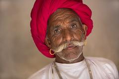 Inde: les Rabari du Rajasthan. (claude gourlay) Tags: inde india indedunord nothindia claudegourlay portrait retrato ritratti people face rajasthan jojawar rabari rebari caste