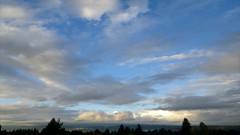 Moving clouds October 20th (Zorro1968) Tags: clouds timelapse explorebc explorecanada britishcolumbia burnaby weather