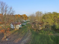 Back buildings (John Rothwell) Tags: n kent county michigan fall nature colors drone arial farm chauncy
