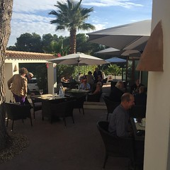 Our lovely customers enjoying the mid November sunshine #sundaylunch #capepe #moraira #capepemoraira
