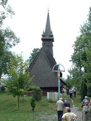 Szeklence fatemploma (ossian71) Tags: ukrajna ukraine kárpátalja szeklence kárpátok carpathians épület building műemlék sightseeing templom church fatemplom wooden középkori medieval