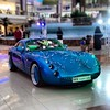 I'm not a sports car enthusiast, but this TVR is a venerable machine of indisputable beauty. (danielbennette) Tags: tvr tuscan car sportcar flamingomall jeddah jiddah saudiarabia saudi arabia mall