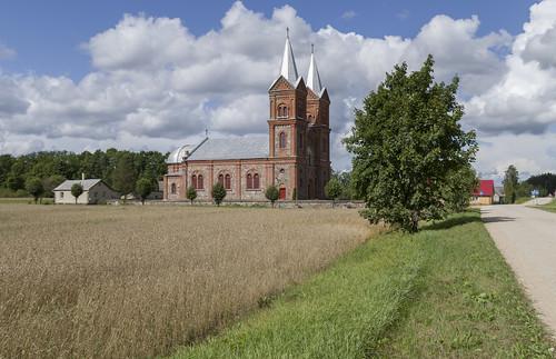 Stirnienes Sv. Laurencija katoļu baznīca, 17.08.2014.