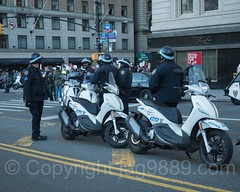 NYPD Scooter Police Officers on Sixth Avenue, Midtown Manhattan, New York City (jag9889) Tags: jag9889 president demonstration manhattan 20161113 outdoor donaldtrump vehicle scooter rally newyork march midtown elect newyorkcity usa nypd policeofficer trump motorcycle 2016 protester cop finest firstresponder lawenforcement ny nyc newyorkcitypolicedepartment officer police policedepartment unitedstates unitedstatesofamerica us