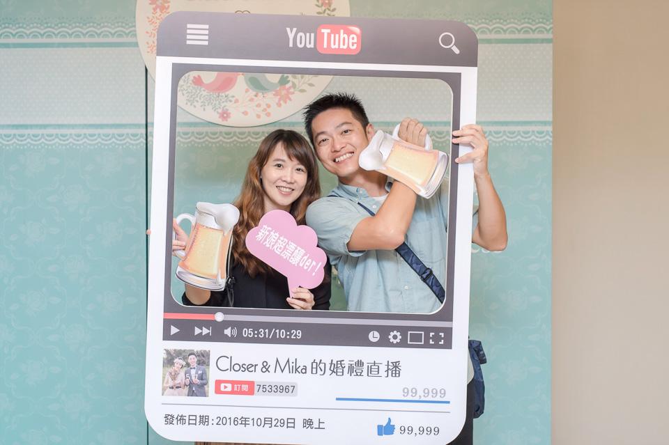 台南婚攝 婚禮紀錄 情定婚宴城堡 C & M 100