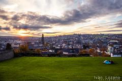 Cork city (Iván Lozano photography) Tags: sunset cork city ireland irlanda canon ivan lozano nubes clouds cloudy sun