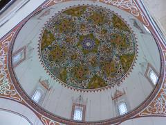 Konya - Mevlana Turbesi, shrine interior, dome (2) (damiandude) Tags: rumi dervish sufi