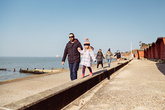 Family walk. Colwell Bay to Totland Bay - IMG_1002 (s0ulsurfing) Tags: s0ulsurfing 2016 march isle wight spring sea coast coastal west walk family