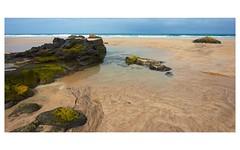 Feurteventura (Steve_66) Tags: borderfx beach rocks sand sea sky clouds patterns fuerteventura island spain brown grey green seascape landscape nature natural tide pool