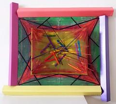 Espluà (Daniela Bellofiore Artista) Tags: arte quadri riciclo pittura scultura fuxia colorato interni esplosione