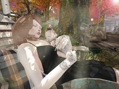 Happy time (Good times of Umi :))))))) Tags: secondlife mesh meshhead maitreya madskin baby sleep