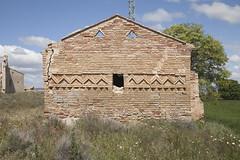 Detalle de la Ermita de Gaarul. (www.rojoverdeyazul.es) Tags: gaarul aragn espaa autor lvaro bueno ermita hermitage zona rural rstico antiguo rustic ancient