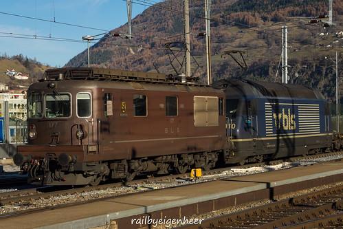 BLS Cargo Re 425 177 + Re 465 010