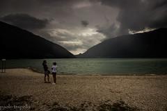 aspettando il temporale (paolotrapella) Tags: sky clouds lago santa croce italy