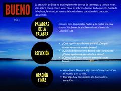 COMIENZOS: BUENO (Comunion de Gracia Internacional) Tags: bueno creacion energa gnesis1 tuyoelmundoydios vida