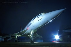 Concorde: The BA flagship (70C Photography) Tags: concorde flight night british french 2016 airways jet airliner supersonic outdoor brooklands surrey canon7d tle charter timeline cold december