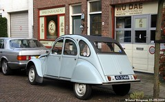 Citroën 2CV 1970 (XBXG) Tags: 4521mm citroën 2cv 1970 citroën2cv 2pk eend geit deuche deudeuche haarlem nederland holland netherlands paysbas vintage old french classic car auto automobile voiture ancienne française france frankrijk vehicle outdoor