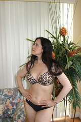 Lisa in  Her Living Room (California Will) Tags: beauty lisa mature bikini