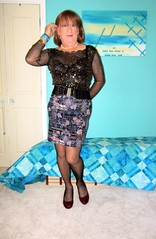 Short skirt (Trixy Deans) Tags: cute sexy classic tv cd crossdressing tgirl tranny transvestite trans transgendered crossdresser crossdress tg sexylegs transsexual trixy tgirls transvesite transvetite sexyheels crossdreeser trixydeans sexytransvestite transvestitesexy