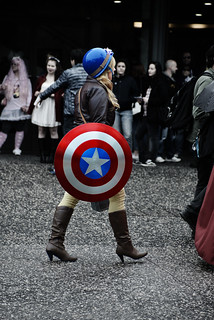 [Lady] Capt. America