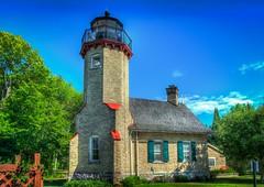 McGulpin Point Lighthouse (EEngler) Tags: vacation lighthouse michigan harborsprings mackinac 2015 northernmichigan mcgulpinpointlighthouse