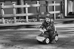 Childhood (nVa17) Tags: street blackandwhite bw smile childhood children blackwhite child streetphotography machine streetphoto perm bnw toycar blackandwhitephotography happines