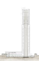 Небоскреб Jiangxi Greenland Zifeng Tower в Китае от SOM