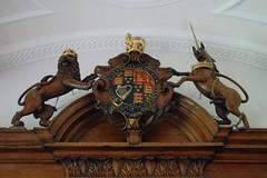 Oxford University - Brasenose College (mademoisellelapiquante) Tags: uk england architecture heraldry medieval oxford oxforduniversity englishhistory brasenose brasenosecollege royalarms oxforduni