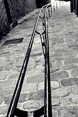 Down to Nothing (Christine Bloom) Tags: white black nikon country sigma handrail winding effect 1020 basque euskadi gipuzkoa orio d5500
