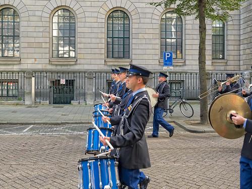 Trompetterkorps der Koninklijke Marechaussee - Doelwater - Rotterdam