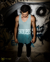 Bboy Fen (Marc Calafell) Tags: summer españa island skull graffiti photo ruins dancer ibiza session breakdance bboy islasbaleares