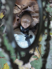 """LUCE_wood """"Door of Hope doll""""_1901 (leaf whispers) Tags: china wood old light portrait sculpture woman girl lady vintage interesting doll artist folkart recycled antique decay auction ooak silk jacket figure buy handcrafted unusual artdoll maker onwhite carvedwood rare bois obsolete woodhead scarydoll ancienne woodensculpture antiquetoy poupe boundfeet handmadedoll creepydoll woodendoll younglady oldtoy blackdoll woodsculpture footbinding chinesedoll haunteddoll spiritdoll pearwood beautyindecay wooddoll woodenhead originalclothes doorofhope blacksilkskirt silkclothes ghostdoll browndoll beautifulblackdoll decayedbeauty dollofcolor carvedwoodhead ghostlydoll antiquewooddoll missiondoll doorofhopemission antiquecarvedwooddoll beautifulbrowndoll doorofhopedoll"""