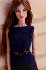 knitted sweater (bnkiti) Tags: sweater doll handknit eugenia decorum