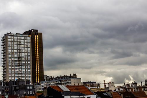 Bruxelles - Ciel d'orage